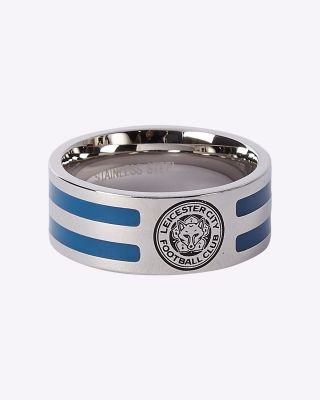 LCFC Two Colour Band Ring