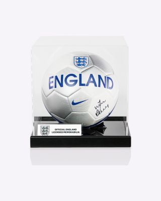 Official Vardy Signed England Ball