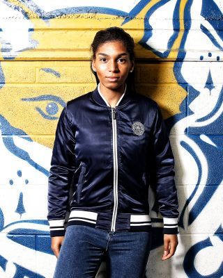 Leicester City Womens Bomber Jacket