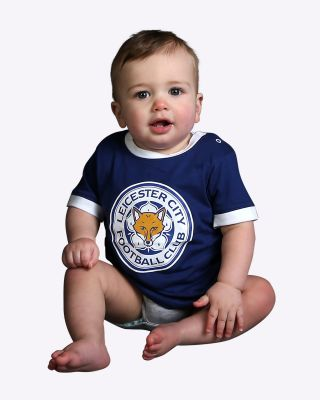 Leicester City Baby/Toddler Large Crest T-Shirt