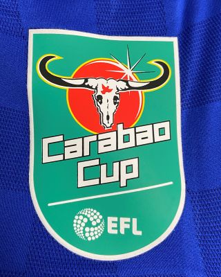 2019/20 adidas Leicester City Adult Home Shirt - Carabao Cup