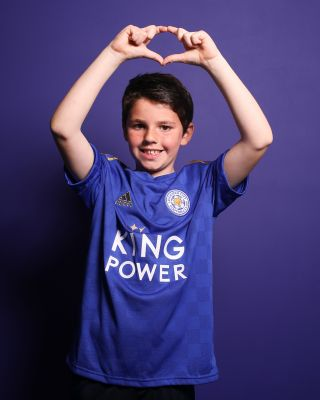 2019/20 adidas Leicester City Junior Home Shirt
