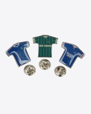 Leicester City Retro Badges - Set 3