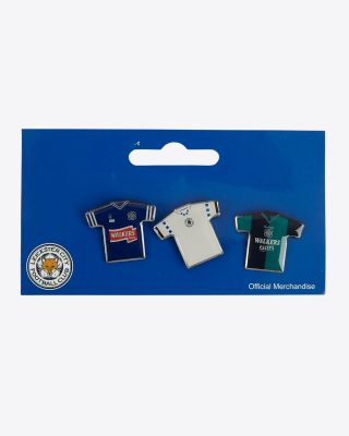 Leicester City Retro Badges - Set 1