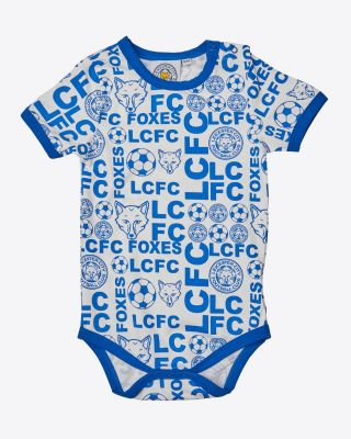 Leicester City All Over Print Blue Vest
