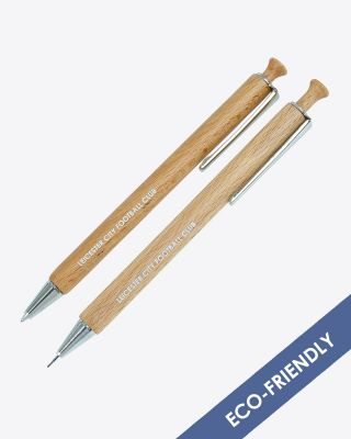 Leicester City Bamboo Pen & Pencil Set