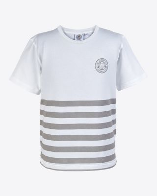 Leicester City Kids Stripe T-Shirt