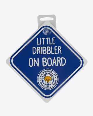 Leicester City Car Little Dribbler On Board