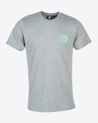 Leicester City Classic Grey T-Shirt