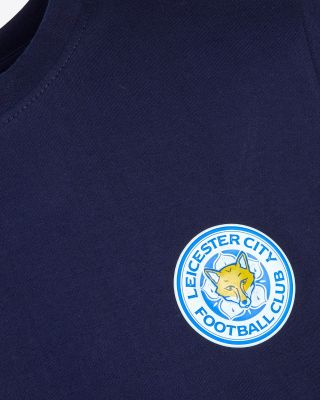 Leicester City Classic Navy T-Shirt