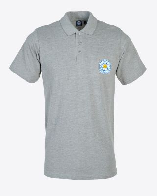 Leicester City Classic Polo Grey