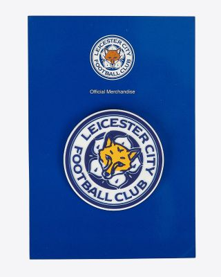 Leicester City PVC Crest Fridge Magnet