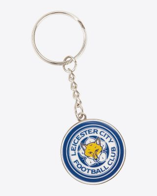 Leicester City Crest Keyring