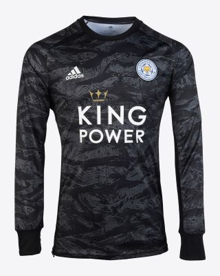 2019/20 adidas Leicester City Junior Black Goalkeeper Shirt