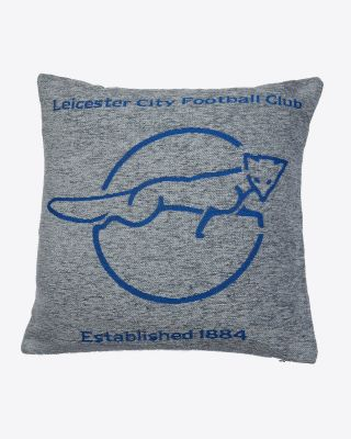 Leicester City Grey Cushion