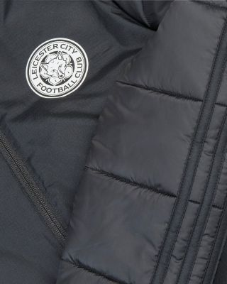 2019/20 adidas Leicester City Junior Black Winter Jacket
