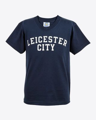 Leicester City Kids Navy Leicester City T-Shirt