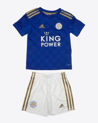 2019/20 adidas Leicester City Home Mini Kit
