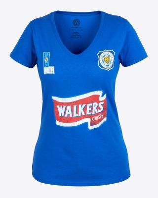 Leicester City Womens Blue Walkers T-Shirt