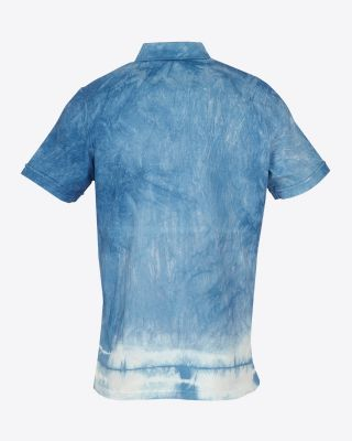 Leicester City Tie Dye Polo