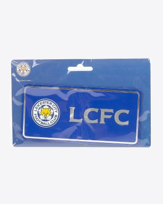 Leicester City Metal Style Fridge Magnet