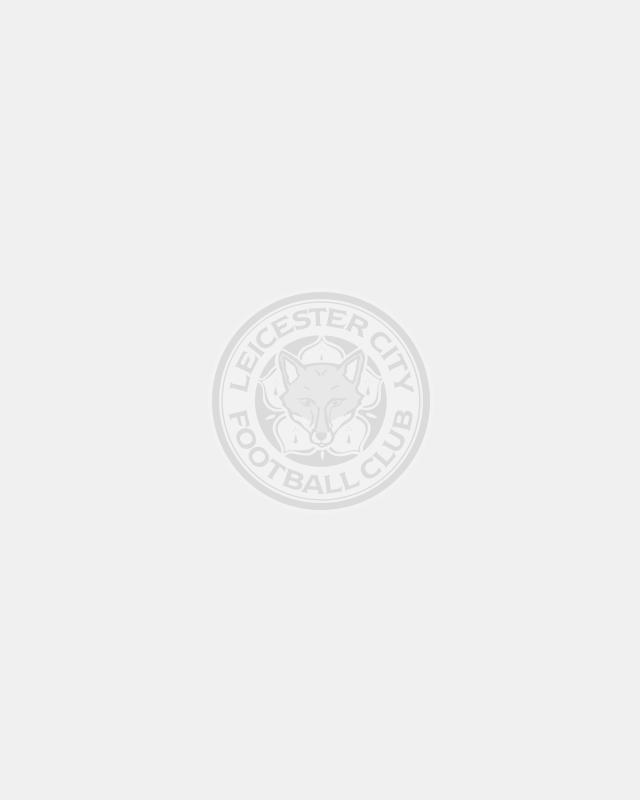 Leicester City Mens Grey Stripe Polo