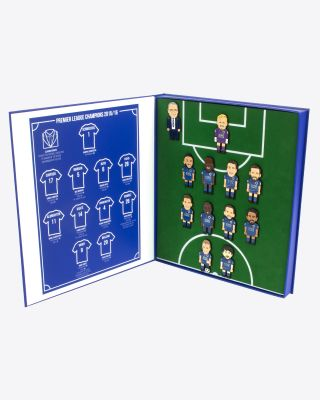 Leicester City Champions 15/16 Pin Badge Set