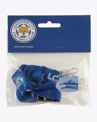 Leicester City Blue Lanyard