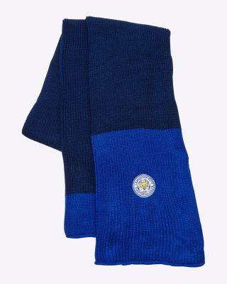 Leicester City Scarf Navy/Royal