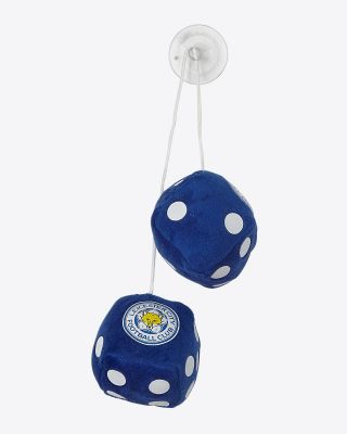Leicester City Small Car Dice