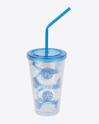 Leicester City Curly Straw Beaker