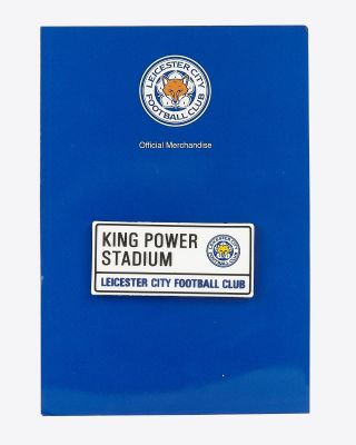 Leicester City PVC Street Sign Fridge Magnet