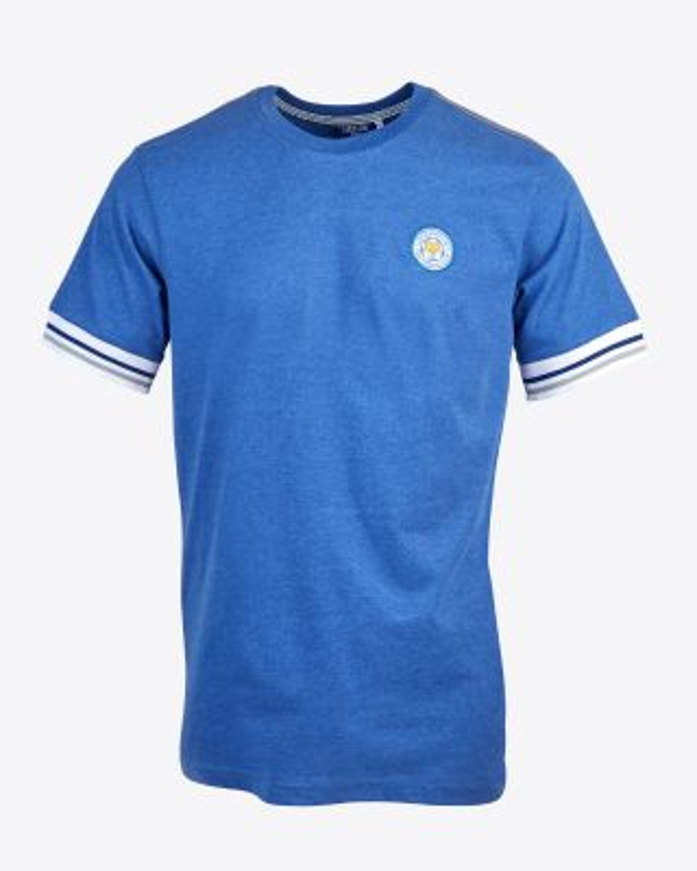 Leicester City Mens Blue Terrace Tee