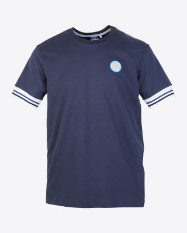 Leicester City Mens Navy Terrace T-Shirt