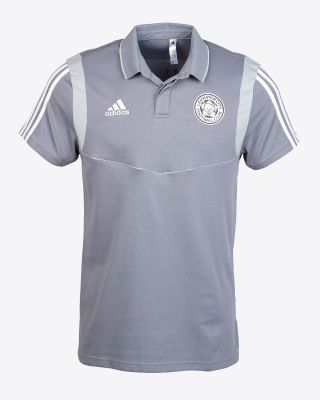 2019/20 adidas Leicester City Junior Grey Polo
