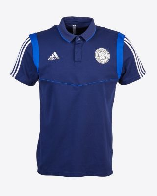 2019/20 adidas Leicester City Junior Navy Polo
