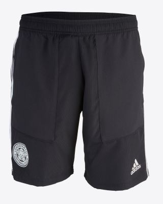 2019/20 adidas Leicester City Junior Black Woven Shorts