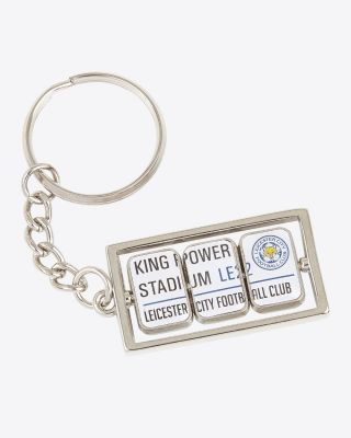Leicester City Triple Spin Keyring