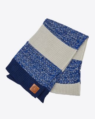 Leicester City Twisted Knit Scarf