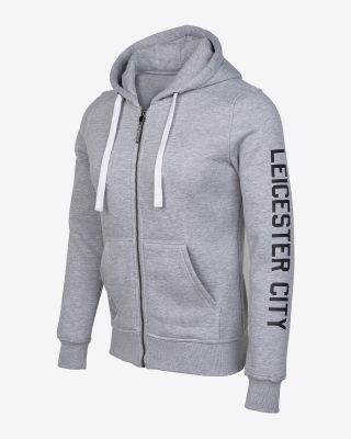 Leicester City Womens Grey Hoody