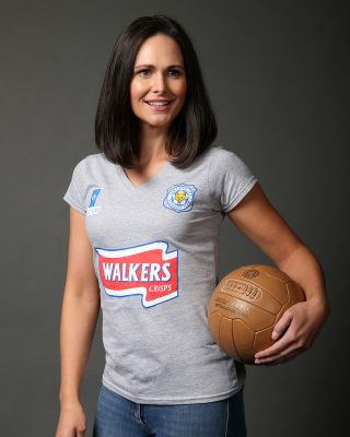 Leicester City Womens Grey Walkers T-Shirt