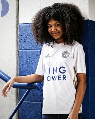 Leicester City White Away Shirt 2020/21 - Kids