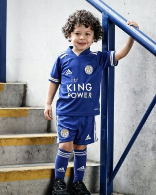Leicester City King Power Home Shirt 2020/21 - Mini Kit