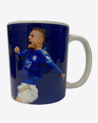 Leicester City Vardy 100 Goals Mug