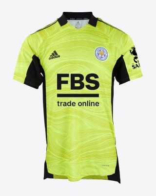 Kasper Schmeichel - Leicester City S/S Goalkeeper Shirt Yellow 2021/22