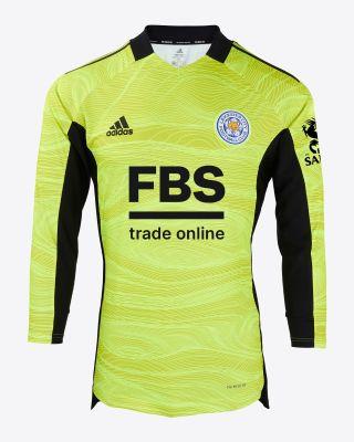 Kasper Schmeichel - Leicester City L/S Goalkeeper Shirt Yellow 2021/22