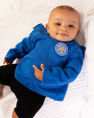 Leicester City Baby/Toddler Blue Frill Sweat
