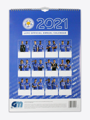 Leicester City 2021 Official Calendar