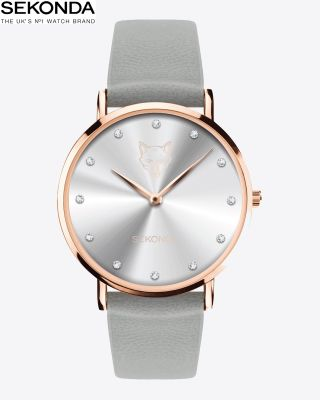 Leicester City Womens Rose Gold Watch