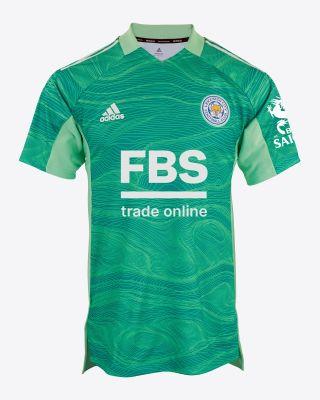 Kasper Schmeichel - Leicester City S/S Goalkeeper Shirt Green 2021/22